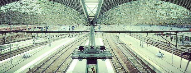 Leuven Railway Station is one of Bijna alle treinstations in Vlaanderen.
