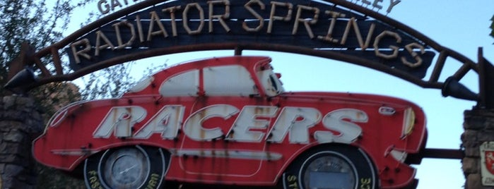 Radiator Springs Racers is one of Rides I Done...Rode.