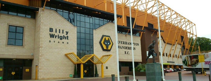 Molineux Stadium is one of Sky Bet Championship Stadiums 2015/16.