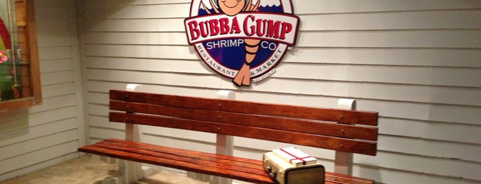Bubba Gump Shrimp Co. is one of Cancun.
