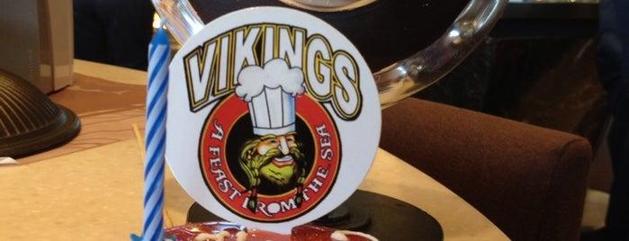 Vikings is one of dine in.