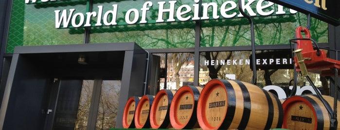 Heineken Experience is one of Free WiFi Amsterdam.