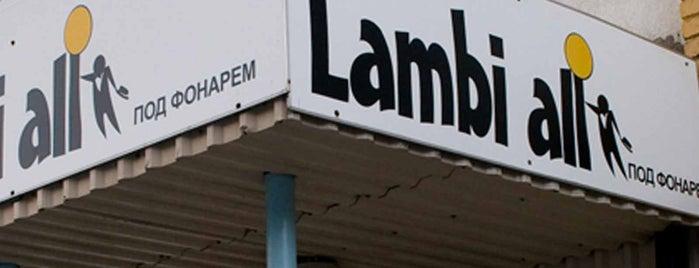 Lambi all is one of The Barman's bars in Tallinn.