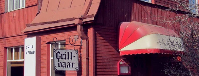Grill Kebab is one of The Barman's bars in Tallinn.
