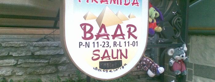 Piramida is one of The Barman's bars in Tallinn.