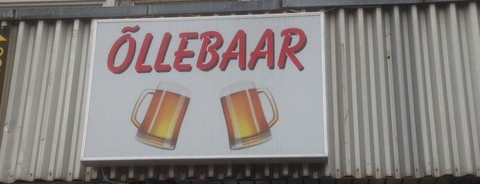 Õllebaar is one of The Barman's bars in Tallinn.