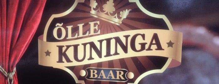 Kuninga Baar is one of The Barman's bars in Tallinn.