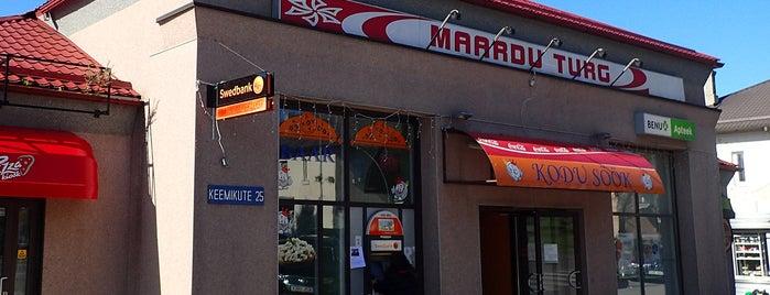 Maardu Turg is one of The Barman's bars in Tallinn.
