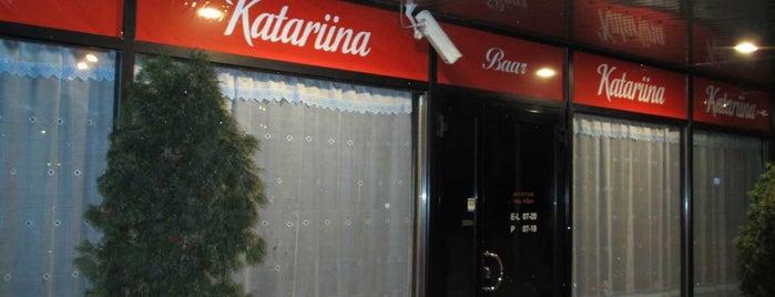 Katariina Baar is one of The Barman's bars in Tallinn.