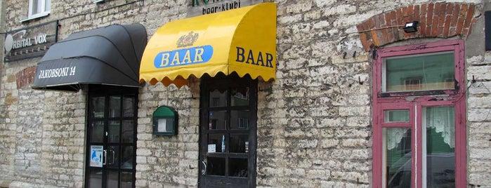 Romero is one of The Barman's bars in Tallinn.