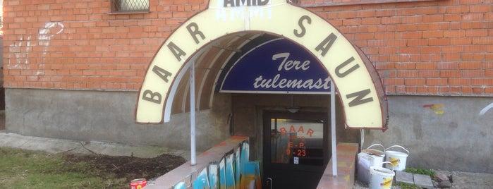 Amid Baar is one of The Barman's bars in Tallinn.