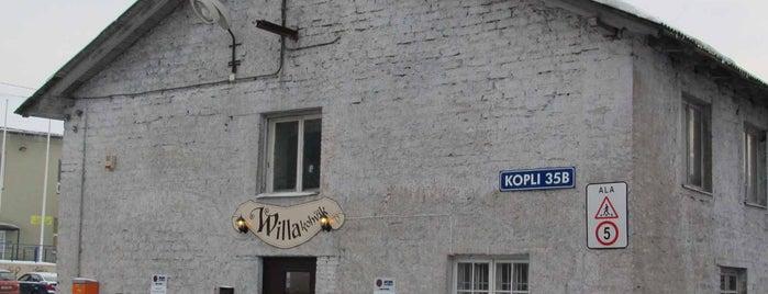 Willa kohvik is one of The Barman's bars in Tallinn.