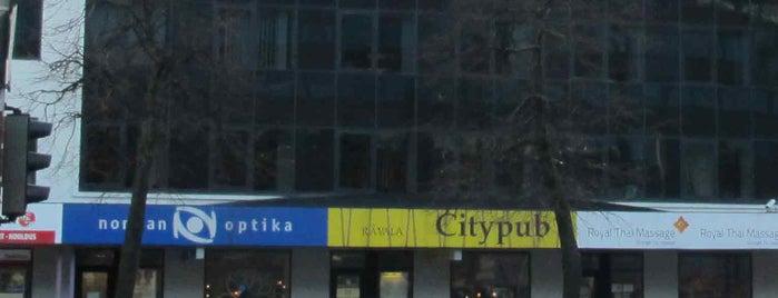 Citypub is one of The Barman's bars in Tallinn.