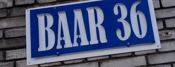 Baar 36 is one of The Barman's bars in Tallinn.