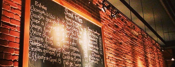 Le Steak frites St-Paul is one of Guide to Montréal's best spots.