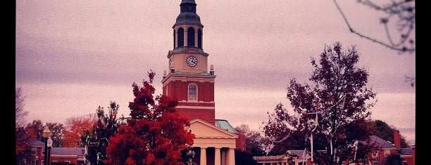 Wake Forest University is one of NCAA Division I FBS Football Schools.