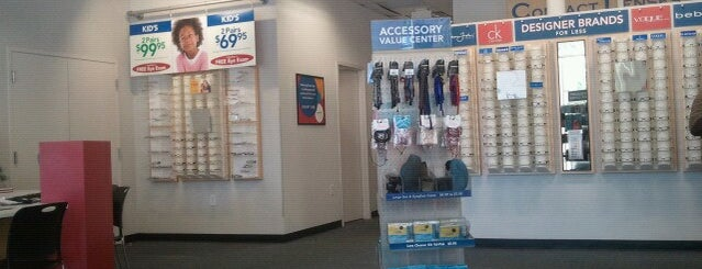 America's Best Contacts & Eyeglasses is one of Been there / &0r Go there.