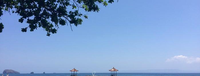 Pantai Candidasa is one of Bali Timur.