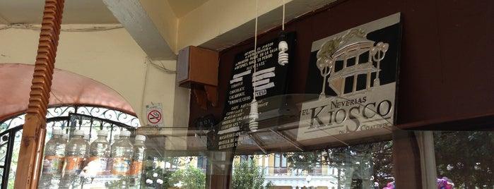Nieves El Kiosco is one of Muchos.