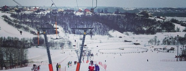 Парк «Яхрома» is one of Склоны.