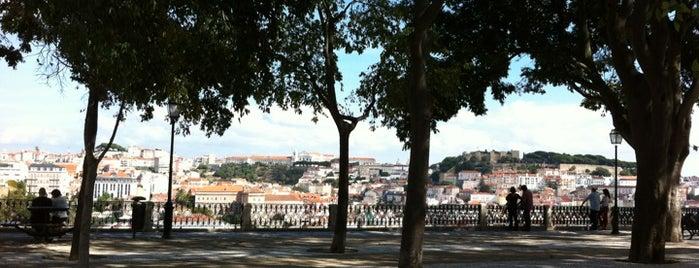 Miradouro de São Pedro de Alcântara is one of Lisbon city guide.