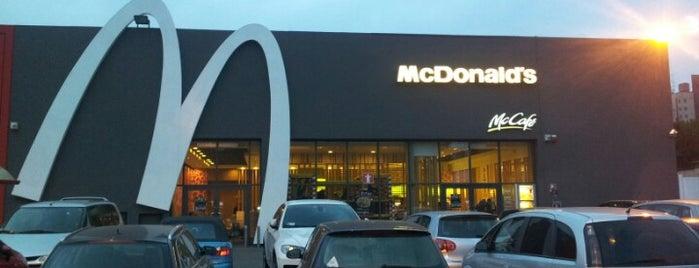 McDonald's is one of A Pranzo Ufficio.