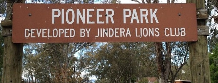 Pioneer Park is one of Jindera.