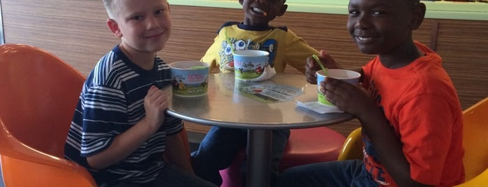 TCBY is one of Favorite's.