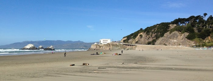 Ocean Beach is one of Our 17 Favorite Pup-Friendly Places.