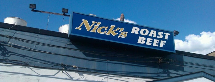 Nick's Roast Beef is one of Favourite Places.