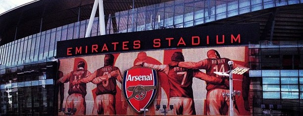 Emirates Stadium is one of My Stadium Tour.