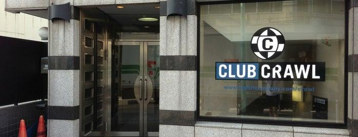 渋谷CLUB CRAWL is one of Clubs & Music Spots venues in Tokyo, Japan.