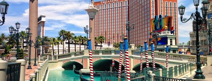 Venetian Resort & Casino is one of 50 Best Swimming Pools in the World.