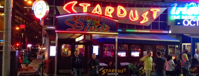 Ellen's Stardust Diner is one of breakfast.