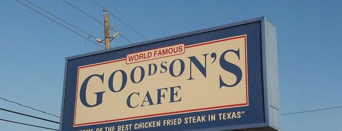 Goodson's Cafe is one of Food Paradise.