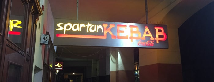 Spartan Kebab is one of Wroclaw-erasmus.