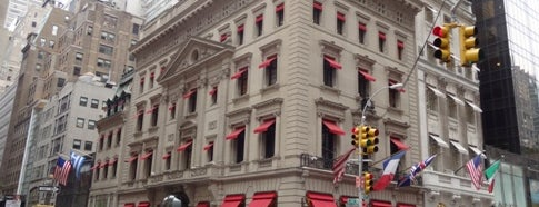 Cartier is one of Architecture - Great architectural experiences NYC.