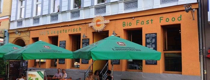 Yellow Sunshine Burger is one of Berlin.