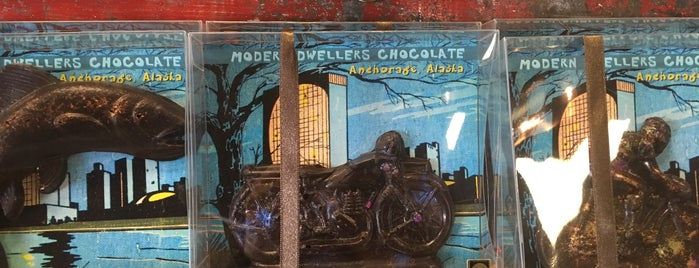 Modern Dwellers Chocolate Lounge is one of Locais curtidos por Dave.