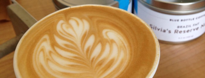 Blue Bottle Coffee is one of I love LA...we LOVE IT!.