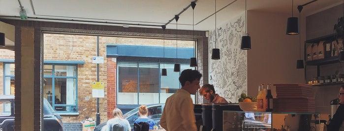 Origin Coffee is one of East London.