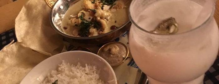 Bombay Cafe: Curry & Ale is one of SPb Must see.