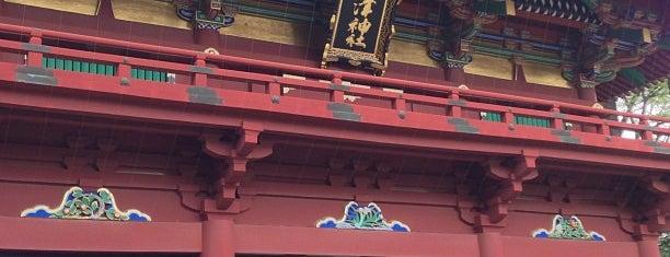 Nezu Shrine is one of Tokyo.