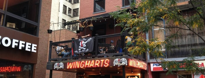 Wingharts Burger And Whiskey Bar is one of Pgh Eats'n'Drinks.
