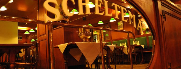 Le Scheltema is one of Belgium - Resto.