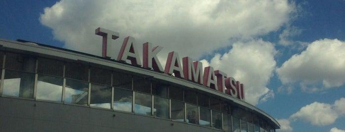 Takamatsu Airport (TAK) is one of 降り立った空港.