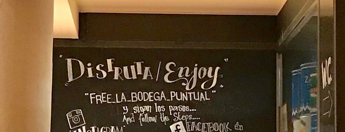 Bodega La Puntual is one of Pendientes.