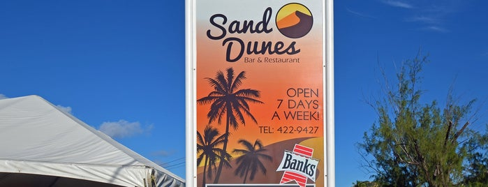 Sand Dunes Bar & Restaurant is one of Local dining gems.