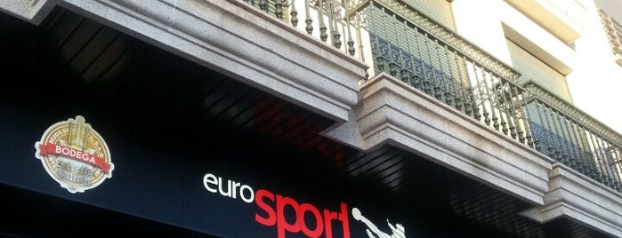 Cafetería | Cervexería EuroSport is one of Best of Ourense ❤.