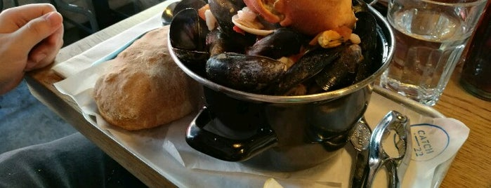 Catch-22 is one of The 15 Best Places for a Seafood in Dublin.